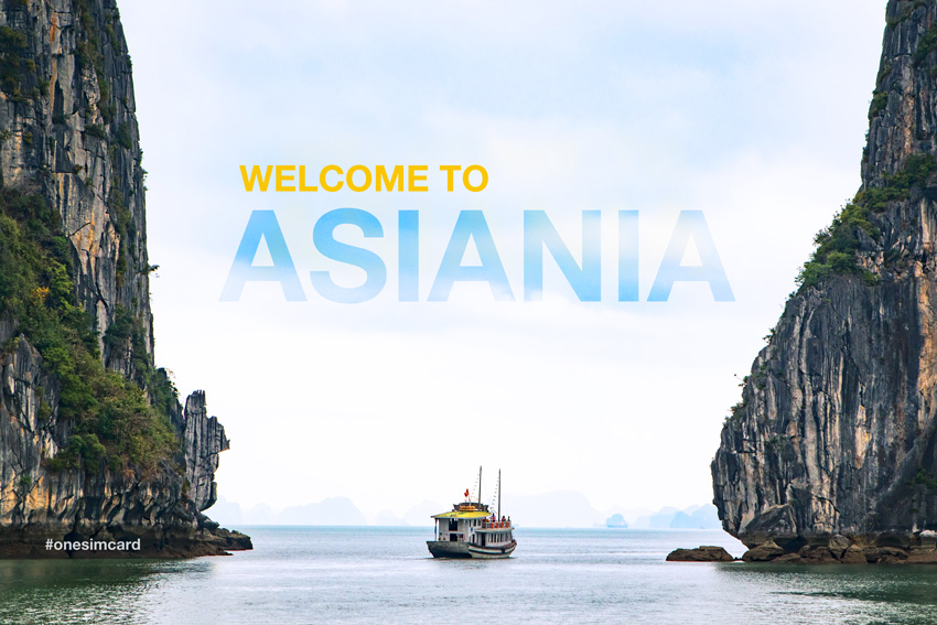 OneSimCard Asiania Data Plan